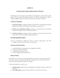 setting goals and objectives at work setting goals and objectives at work setting