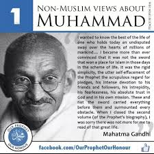 mercy for universe in the eyes of non muslims scholars by s h gandhi on muhammed