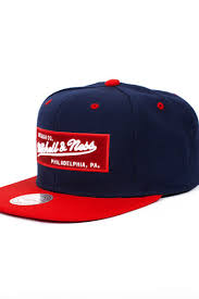<b>Бейсболка MITCHELL&NESS Own</b> 2 Tone Logo (Navy/Red, O/S ...