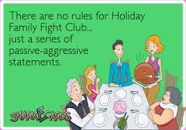 Holiday Family Fight Club, www.imjustsayindamn.com