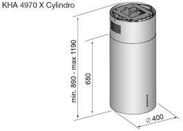 <b>Вытяжка Korting KHA 4970</b> X Cylinder