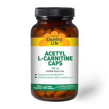 Acetyl <b>L</b>-<b>Carnitine 500 mg</b> - Country Life Vitamins