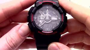 <b>Часы Casio G</b>-SHOCK <b>GA</b>-110HR-<b>1A</b> - Инструкция, как настроить ...