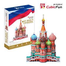 Пазл <b>CubicFun</b> MC093h <b>Собор Василия</b> Блаженного — купить в ...