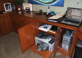 built in home office furniture and desks 6 built home office