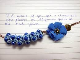 kassya flowers for algernon amariah bead flower for algernon 259436
