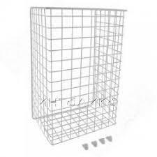 <b>Корзина</b> для белья в базу 400 мм, высота 525 мм, белый | КБ40525