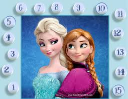 frozen sticker charts frozen sticker chart customize