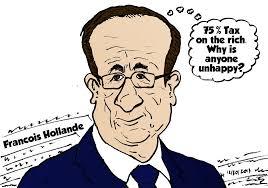 Image result for President Hollande CARTOON