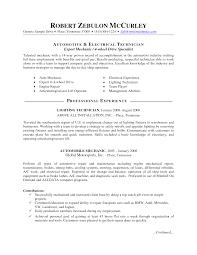 automotive resume anuvrat info technician resume objective examples automotive resume template