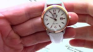 <b>Часы Orient NR1Q003W</b> [FNR1Q003W0] - видео обзор от ...