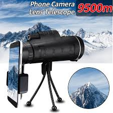 <b>40X60</b> High Power Compact Monocular Telescope <b>HD Dual</b> Focus ...
