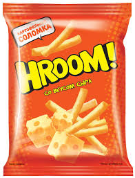 «Hroom», <b>чипсы со вкусом</b> сыра, 50 г – купить по лучшей цене с ...