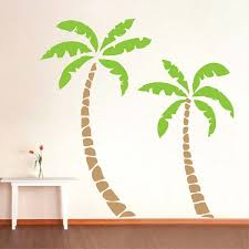 palm tree wall stickers: palm tree wall decals zoom palm tree wall murals g palm tree wall decals zoom