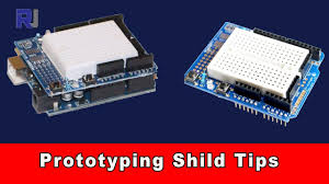 How to use <b>Prototyping Shield</b> for Arduino - YouTube