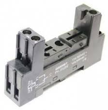 PI   BE   GOODSKY   Relay Accessories   Online shop   Comet     Comet Electronics Relay Socket  DPDT  DIN Rail Mount