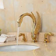 Traditional Standard Spout Single Handle One Hole <b>Antique</b> Brass ...