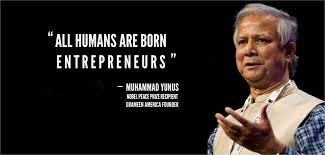 Hand picked eleven popular quotes by muhammad yunus photograph French via Relatably.com