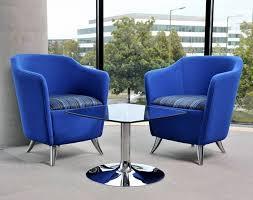 Home, Furniture & DIY Blue Tub <b>Chair</b> Modern Design <b>Armchair</b> ...