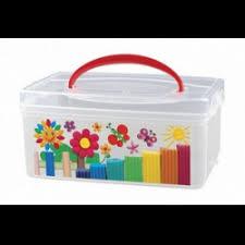 Отзывы о <b>Коробка универсальная</b> с ручкой и декором <b>Бытпласт</b> ...