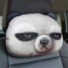 <b>Creative</b> Lovely 3D Cat Rabbit Panda Printed Animals Face Car ...