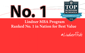 carl h lindner college of business university of cincinnati mba no 1 in best value