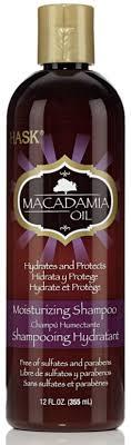 Шампунь для увлажнения волос <b>HASK Macadamia oil</b> с <b>маслом</b> ...