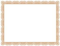 new certificate template certificate templates printable editable certificate template