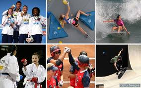 A Complete Look At All The <b>New Sports</b> And Events For The Olympic
