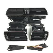 <b>OEM</b> VW LHD <b>Passat</b> B6 <b>B7 CC</b> R36 Chrome Piano Black Air Vent ...