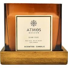 <b>Ароматическая свеча</b> Atmos Moscow Siam <b>Oud</b> 820 г — купить в ...