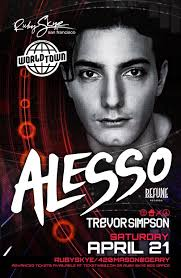 with resident Trevor Simpson On Saturday April 21st of 2012 at Ruby Skye in San Francisco Advance Tickets At: http://ow.ly/9QObd - us-0421-354630-12017-front