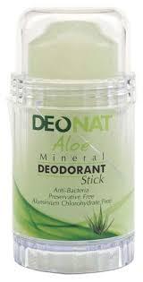 DeoNat <b>дезодорант</b>, <b>кристалл</b> (<b>минерал</b>), Aloe (twist up) — купить ...