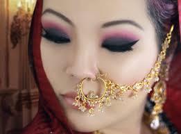 c and black smokey eye makeup tutorial for monolids asian indian bridal makeup tutorial asian bridal looks