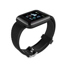 116 Plus <b>Smart Watch</b> Wristband Sports <b>Fitness</b> Blood Pressure ...