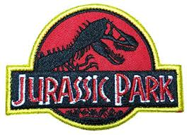 1 X Jurassic Park Logo Embroidered PATCH: Arts ... - Amazon.com