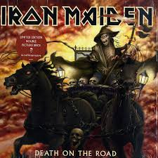 <b>Iron Maiden</b> - <b>Death</b> On The Road (2005, Vinyl) | Discogs