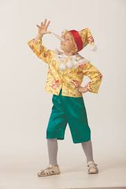 <b>Батик Костюм карнавальный</b> для мальчика <b>Буратино</b> сказочный ...