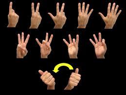 numbers asl american sign language numbers asl american sign language