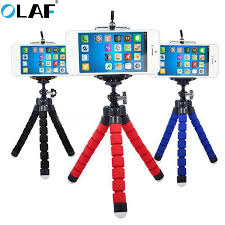 <b>Olaf Phone Holder</b> Portable <b>Flexible</b> Octopus Tripod Phone desktop ...