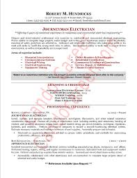 electrician resume sample company resume example