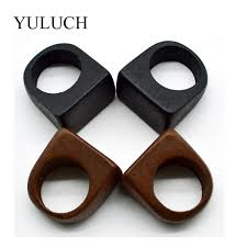 YULUCH NEW <b>Hot Sale</b> Trend Original <b>Natural</b> Wood Rings ...