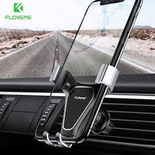 FLOVEME Mirror Gravity Car Phone Holder <b>360 Rotatable Air</b> Vent ...