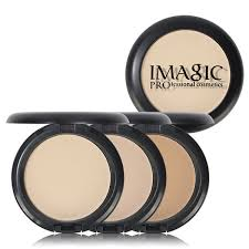 <b>IMAGIC</b> Natural Brand <b>4 Colors</b> Face Base Pressed Powder Makeup ...