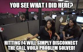 If You Work Or Have Worked In A Call Center, These Hilarious Memes ... via Relatably.com