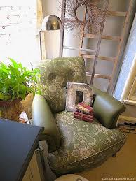 painting stencil leather club chair chalk paint diy painted furniture painting can you paint leather furniture