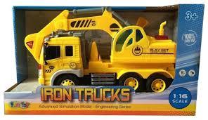 Купить <b>Экскаватор Fun toy</b> 44404/1 1:16 желтый по низкой цене с ...