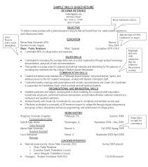 resume  example resumes skills  chaoszsample resume skills and abilities sample resume skills and abilities example skills for resume
