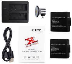<b>Экшн</b>-<b>камера X-TRY XTC164 NEO</b> POWER KIT 4K WiFi купить в ...