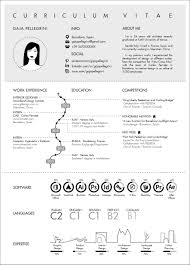 the top architecture résumé cv designs archdaily submitted by gaia pellegrini
